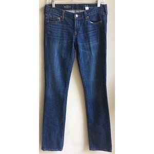 J Crew Matchstick Blue Stretch Jeans Size 26